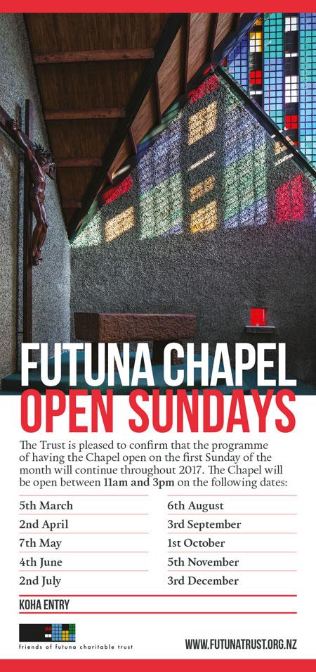Futuna Open Sundays 2017
