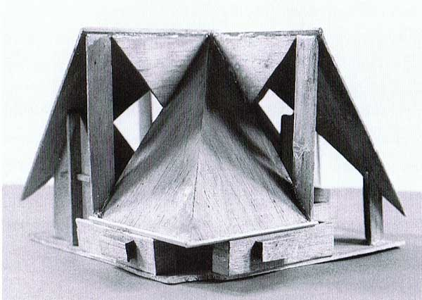 Model of the Chapel by John Scott