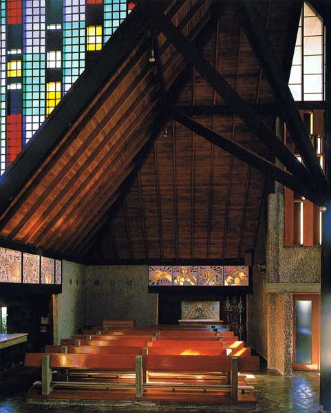 Chapel Interior by John Scott